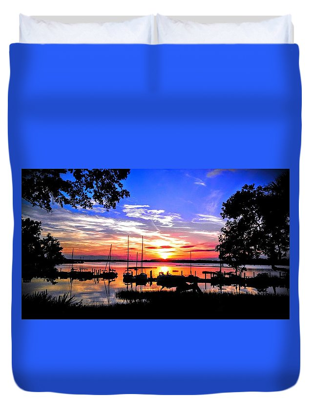 Duvet Cover featuring the photograph Another Of His Infinate Masterpieces by Joseph Stewart