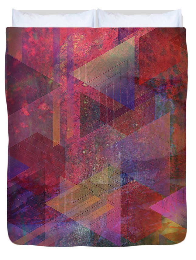Another Place Duvet Cover featuring the digital art Another Place by John Beck