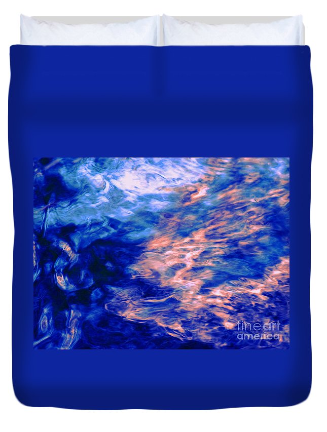 Abstract Duvet Cover featuring the photograph Answered Prayers by Sybil Staples