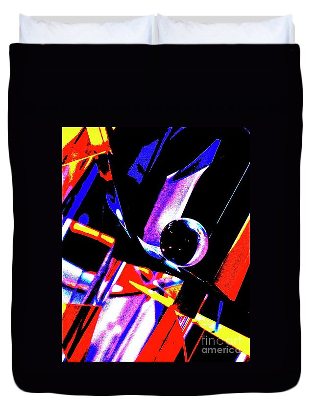 Ball Duvet Cover featuring the photograph Anti Gravity by Xn Tyler