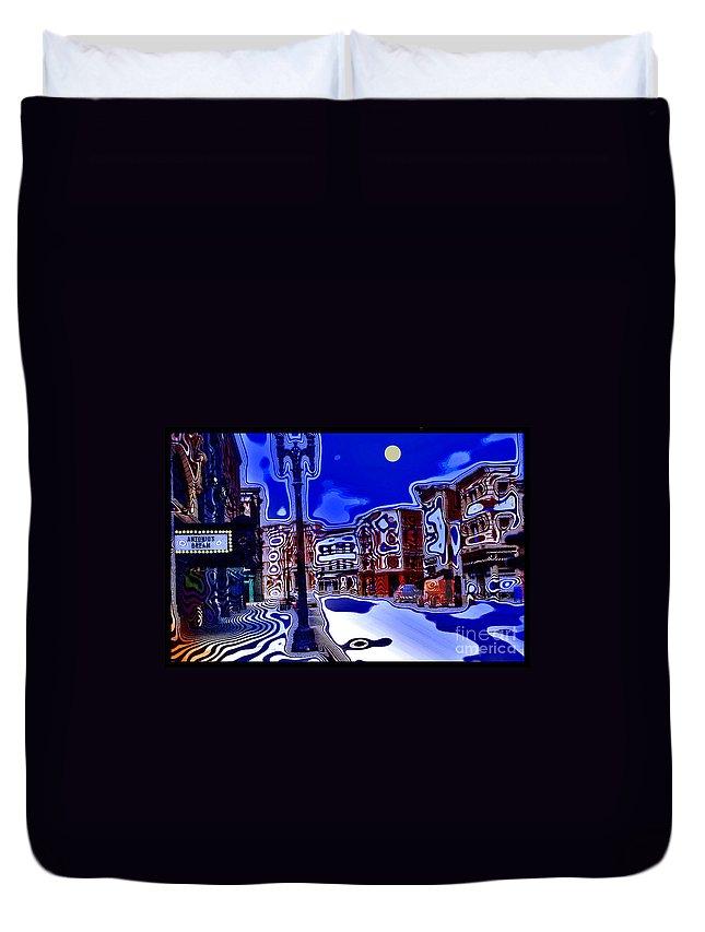 Dream Duvet Cover featuring the photograph Antonio's Dream by Madeline Ellis