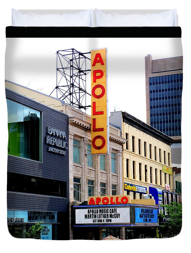 Apollo Theater Duvet Covers