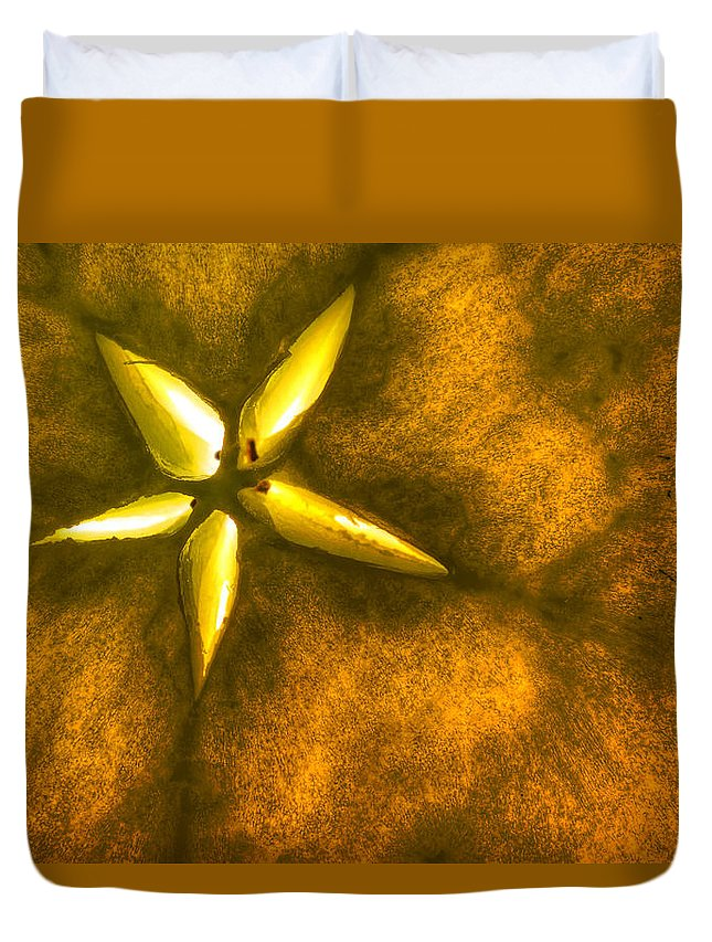 Apple Duvet Cover featuring the photograph Apple Slice by Robert Storost