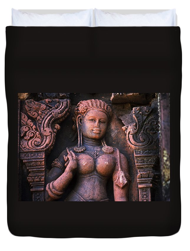 Apsara Duvet Cover featuring the photograph Apsara by Patrick Klauss