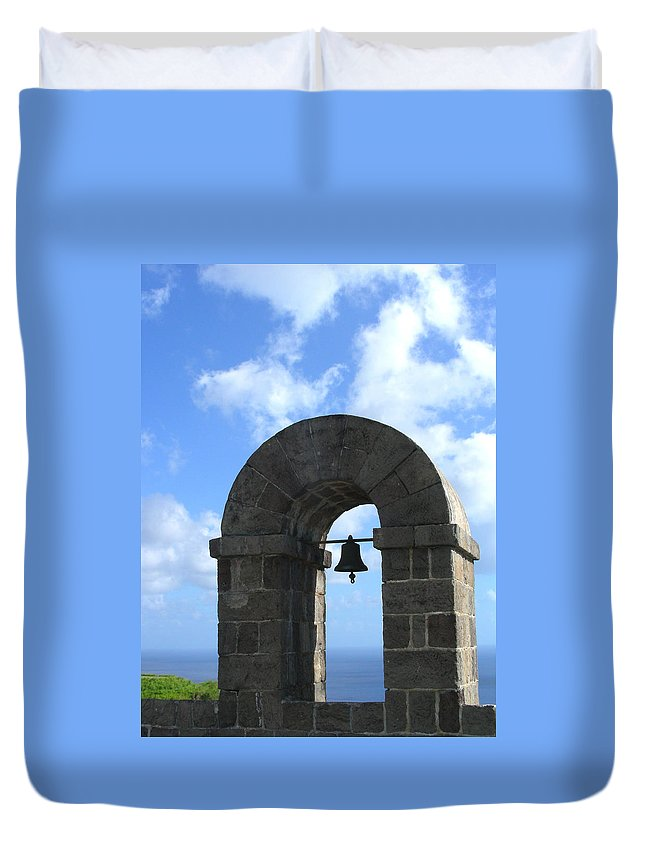 Arches Duvet Cover featuring the photograph Arches by Jean Wolfrum