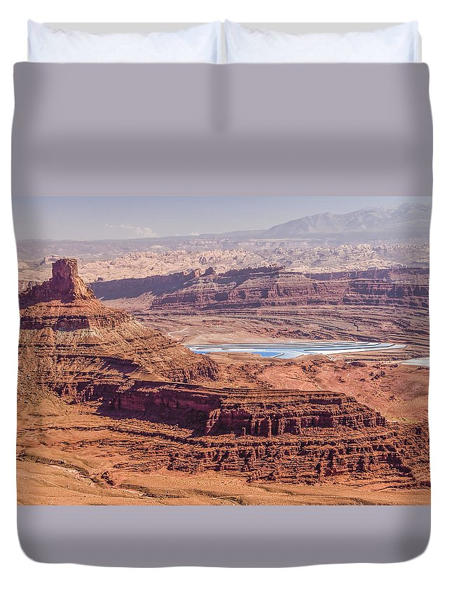 Duvet Cover featuring the photograph Arches National Park by LOsorio Photography