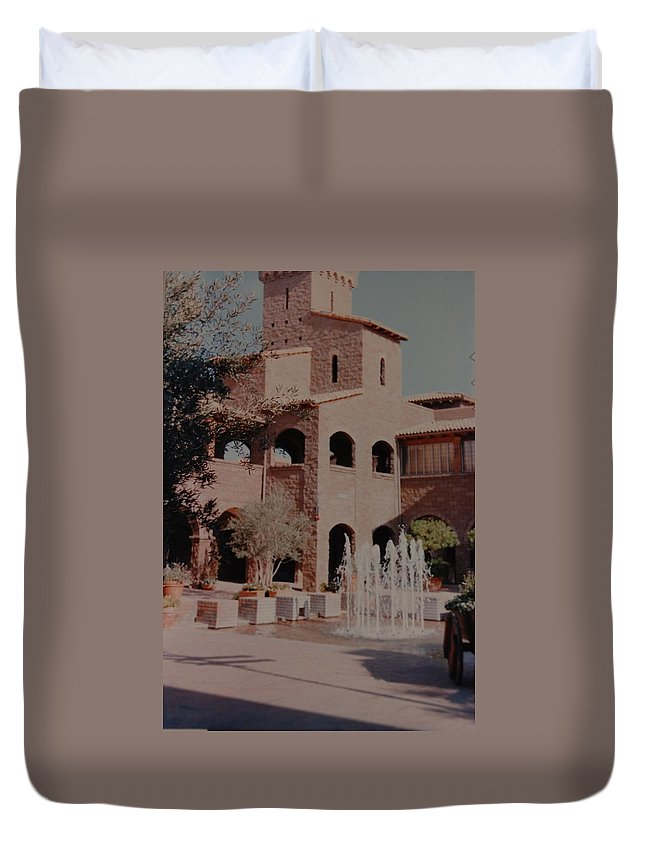 Arizona Duvet Cover featuring the photograph Arizona Water by Rob Hans