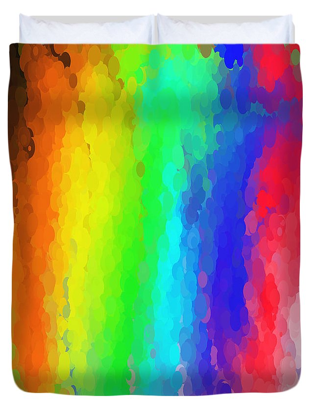 Art Duvet Cover featuring the digital art Art No.22.5 by Abdulaziz Butaiban