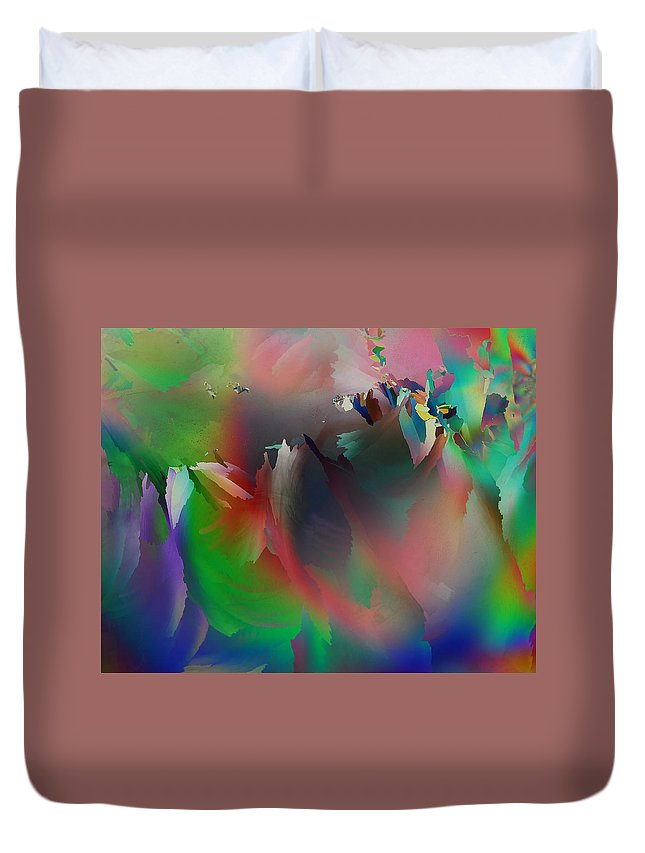 Frost Duvet Cover featuring the photograph Artistic Frost by Carol Berget