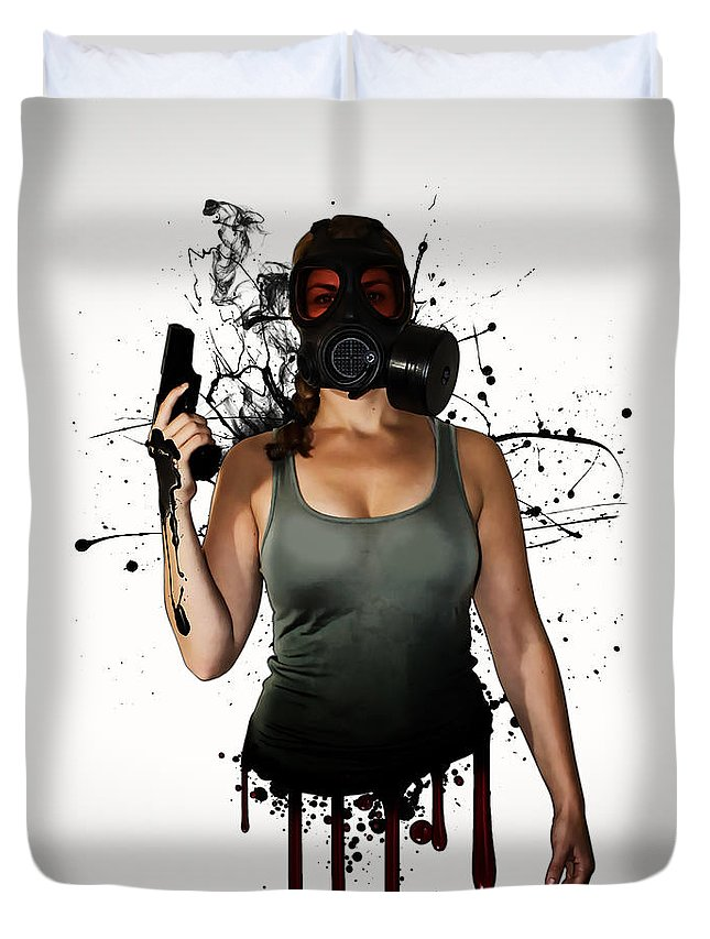 Weapon Duvet Covers