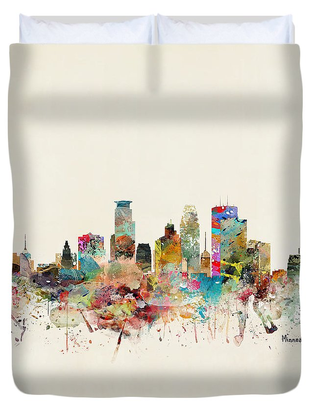 Designs Similar to Minneapolis City Skyline
