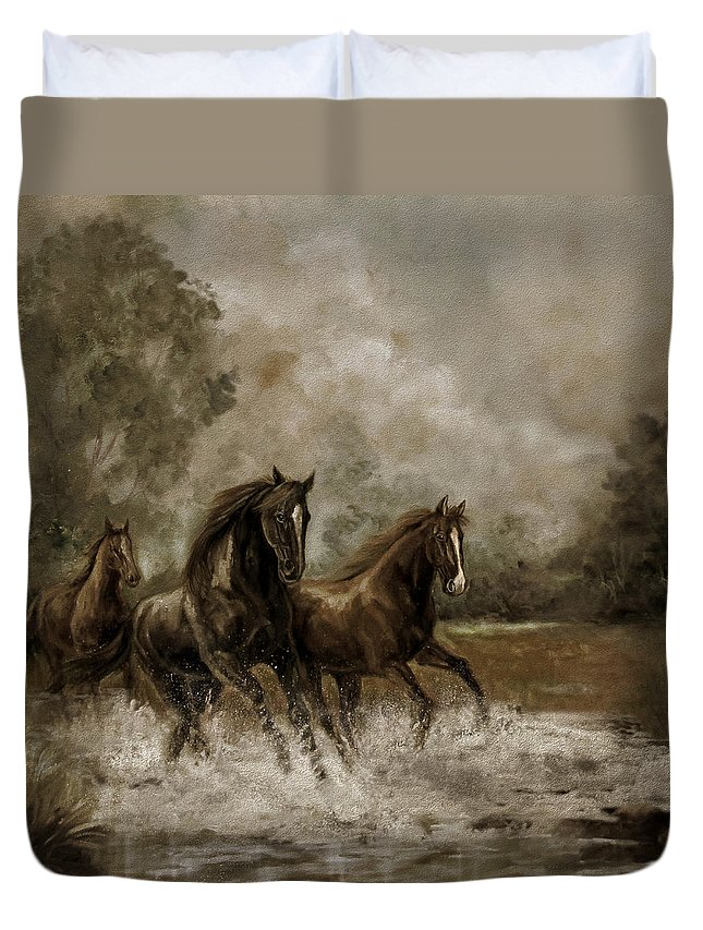 Horse In Motion Duvet Covers