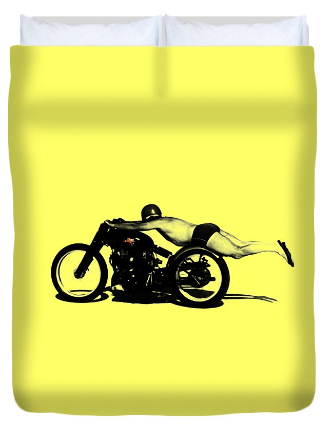 Motorcycle Duvet Covers
