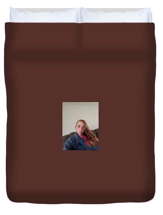 Ashley Duvet Cover featuring the photograph Ashley Vancouver Wa by Joe Williams