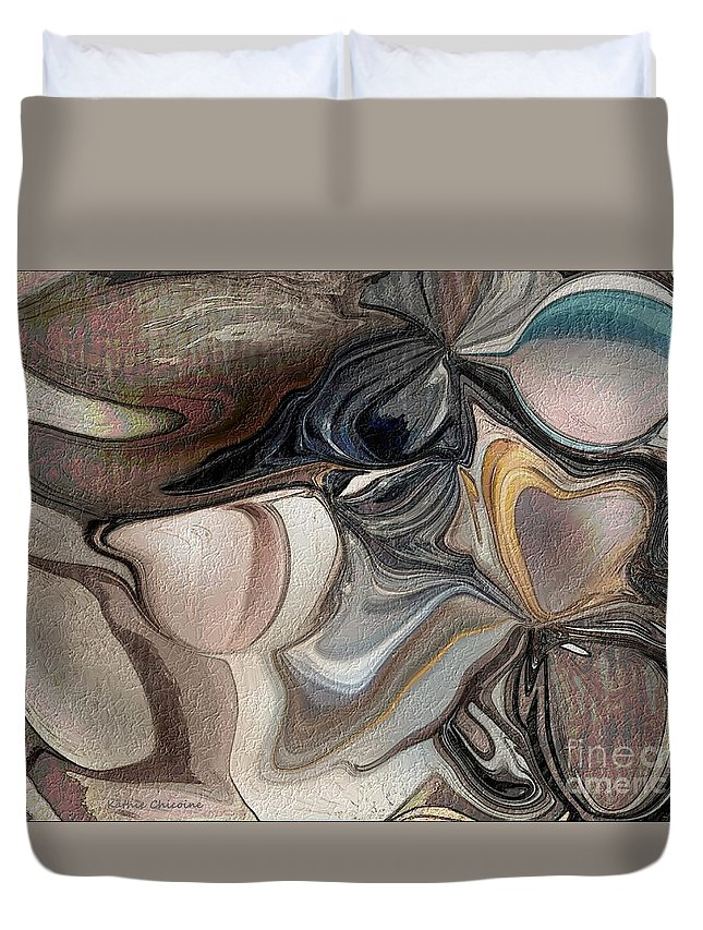 Photographic Art Duvet Cover featuring the photograph At The Shore by Kathie Chicoine