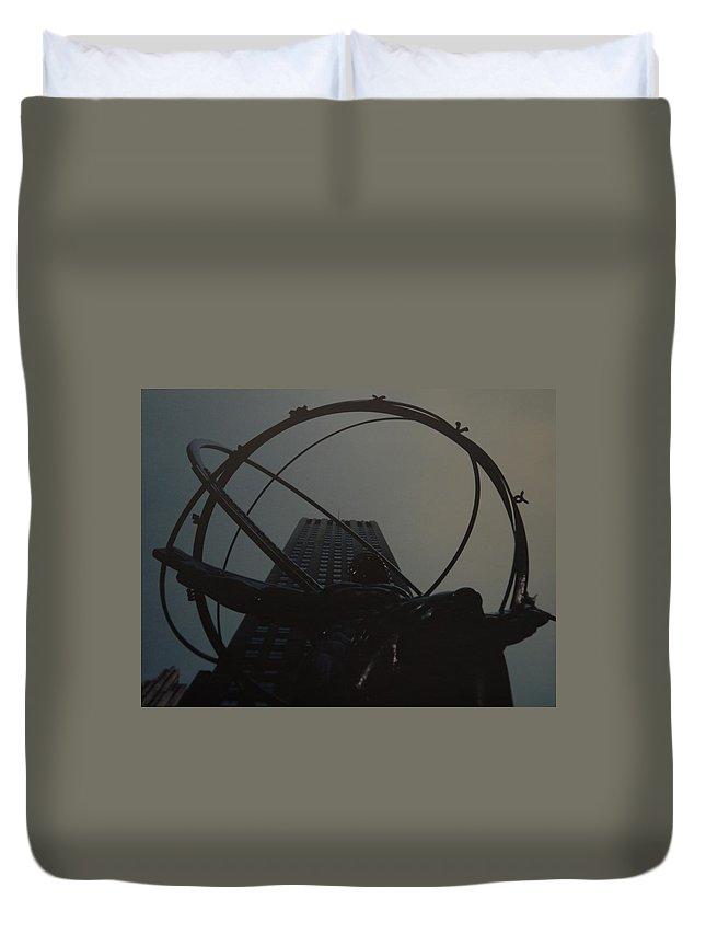 Atlas Duvet Cover featuring the photograph Atlas by Rob Hans
