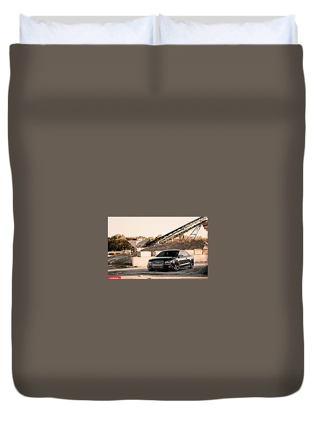 Audi S5 Duvet Cover featuring the digital art Audi S5 by Dorothy Binder