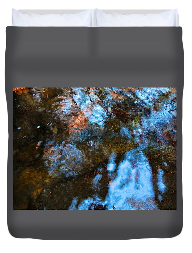Autumn Landscape Duvet Cover featuring the photograph Autumn B 2015 126 by George Ramos