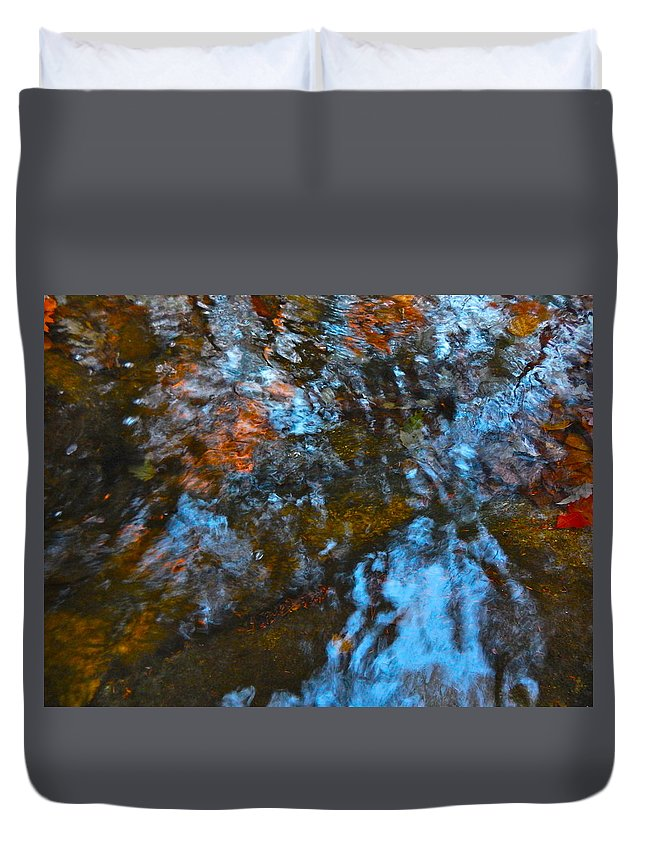 Autumn Landscape Duvet Cover featuring the photograph Autumn B 2015 128 by George Ramos