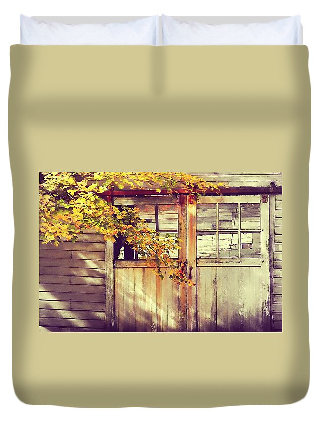 Autumn Duvet Cover featuring the photograph Autumn Color by JAMART Photography