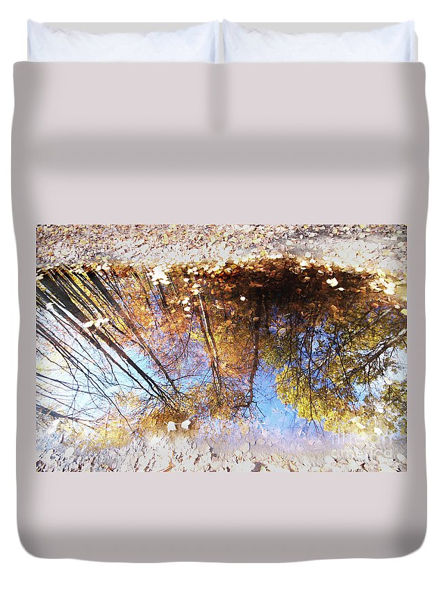 Autumn Duvet Cover featuring the photograph Autumn Print by Mircea Costina Photography
