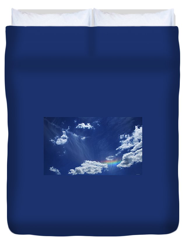 Nature Duvet Cover featuring the photograph Awaken by Linda Sannuti