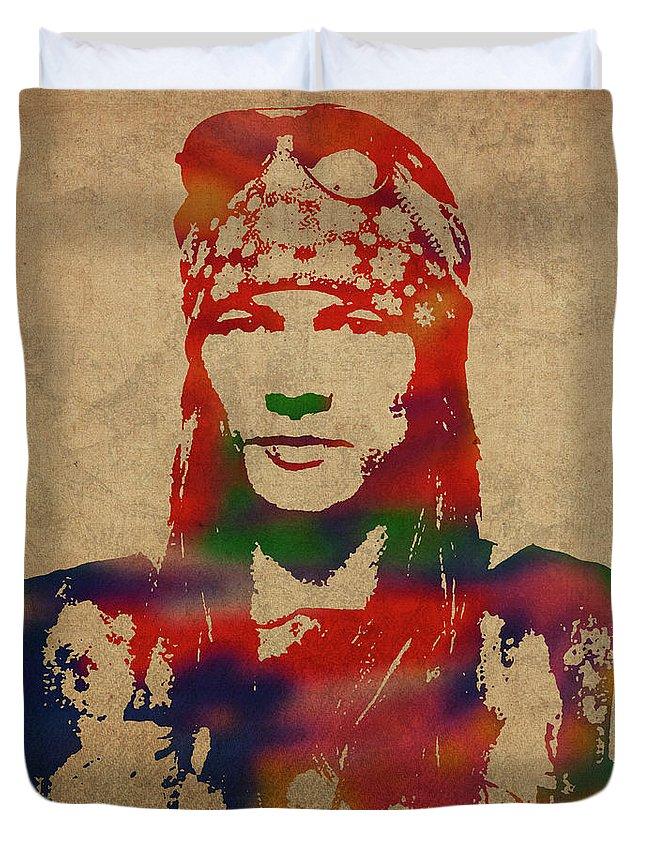 Axl Rose Duvet Covers