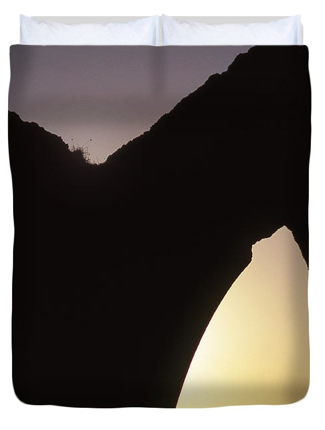 Bahia Duvet Cover featuring the photograph Bahian Sunset by Patrick Klauss