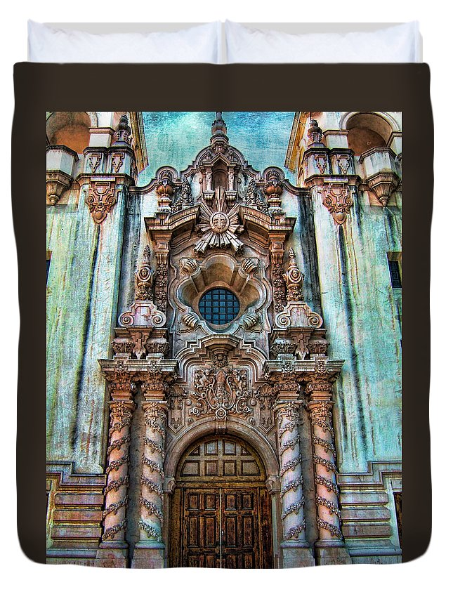 San Diego Duvet Cover featuring the photograph Balboa Park 7 by Tammy Wetzel