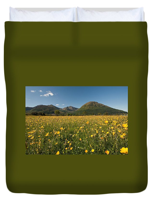 Scotland Duvet Cover featuring the photograph Ballachulish by Colette Panaioti