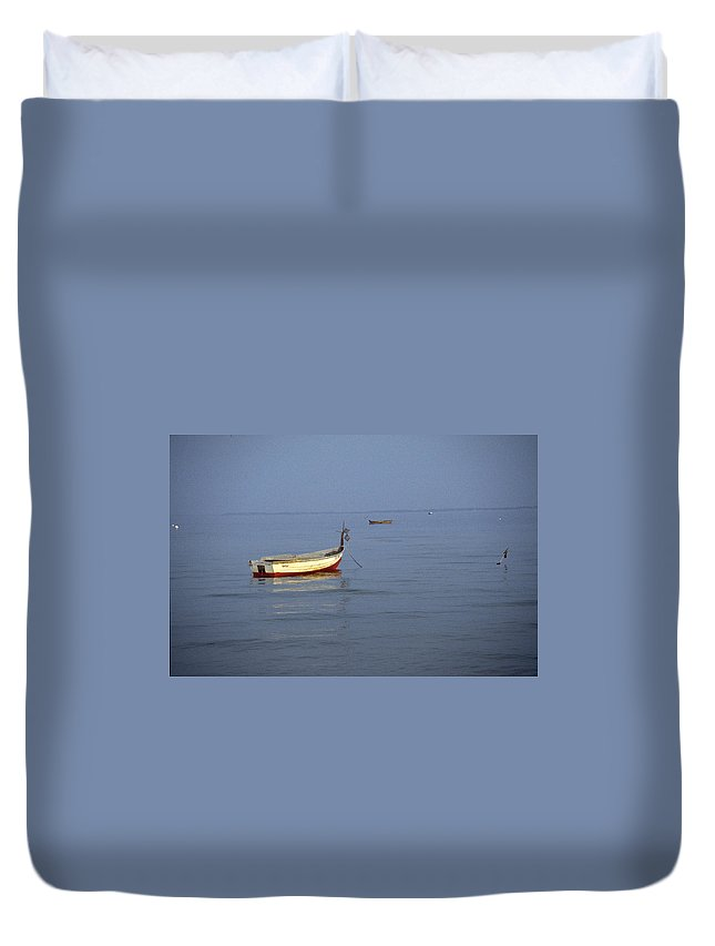 Baltic Sea Duvet Cover featuring the photograph Baltic Sea by Flavia Westerwelle