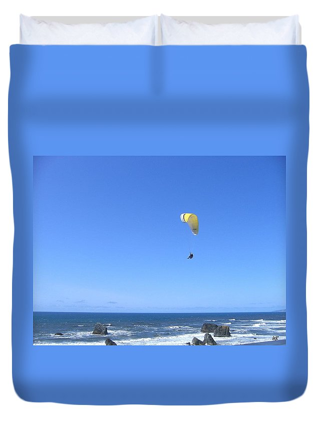 Bandon Duvet Cover featuring the photograph Bandon 10 by Will Borden
