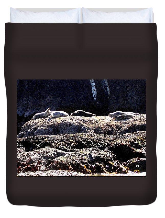 Bandon Duvet Cover featuring the photograph Bandon 11 by Will Borden