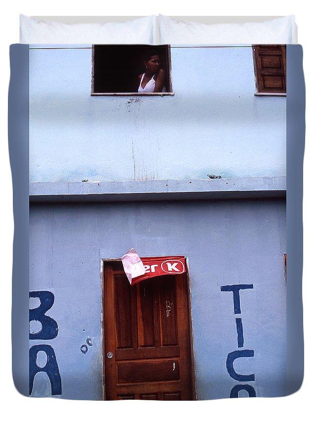 Lencois Duvet Cover featuring the photograph Bar Tico by Patrick Klauss