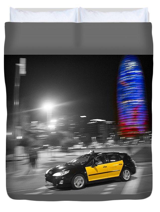 Barcelona Duvet Cover featuring the photograph Barcelona by David Ortega Baglietto