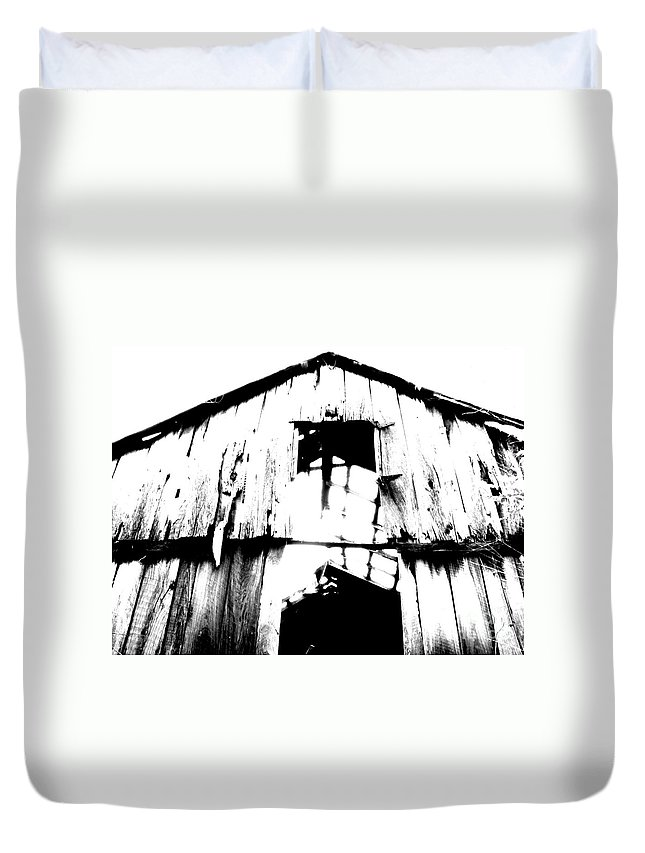 Barn Duvet Cover featuring the photograph Barn by Amanda Barcon