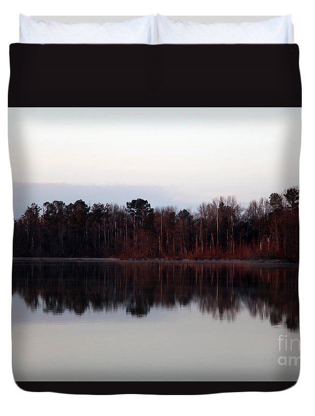 Base Duvet Cover featuring the photograph Base by Amanda Barcon