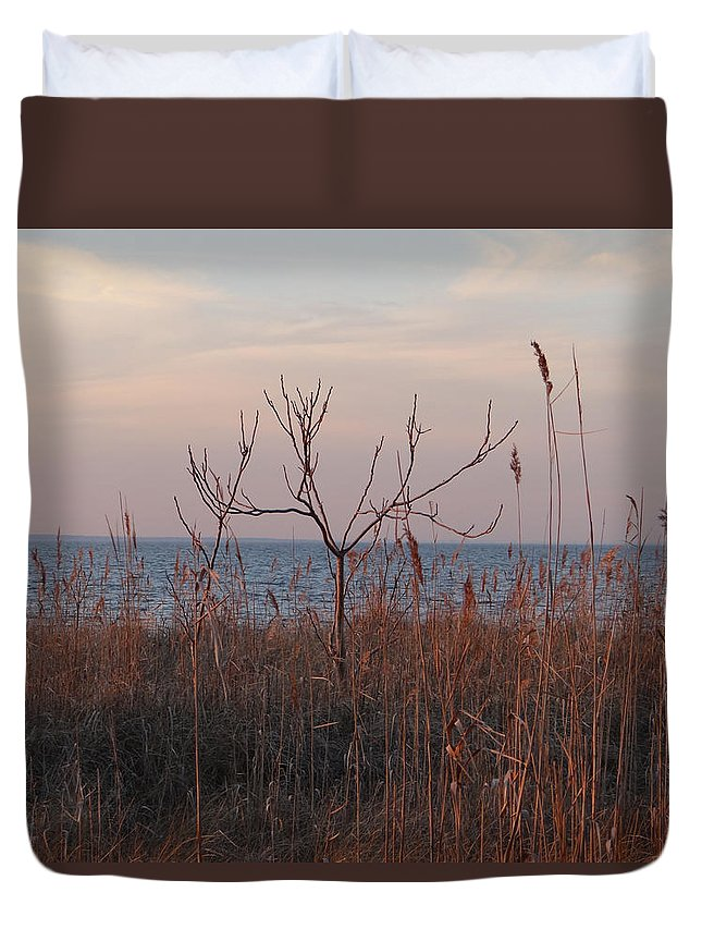 Bay Duvet Cover featuring the photograph Bayside by Bill Helman