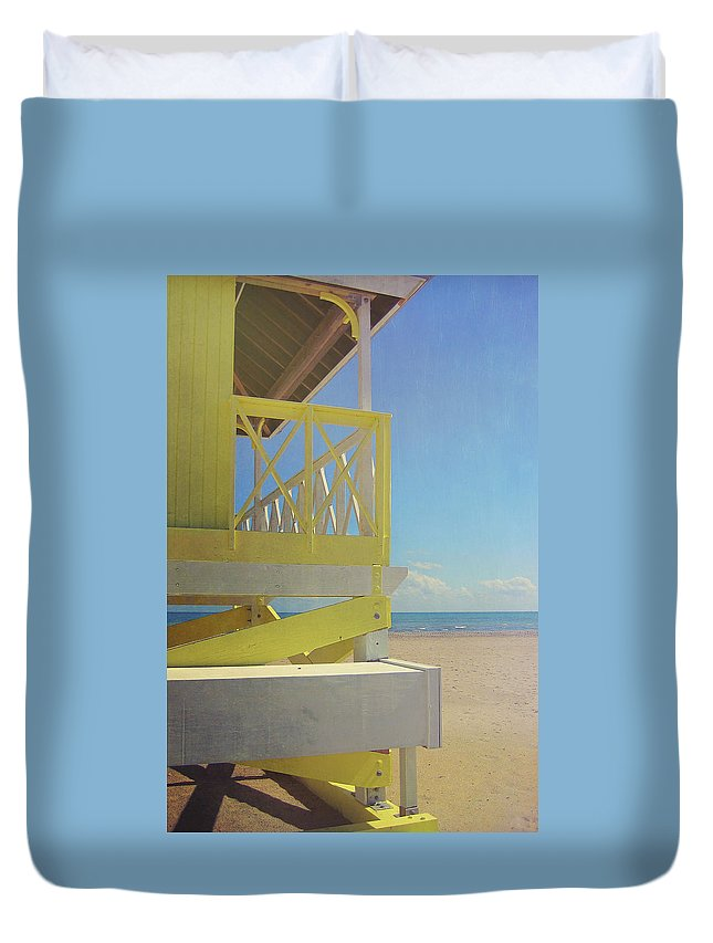 Beach Duvet Cover featuring the photograph Beach Day by JAMART Photography