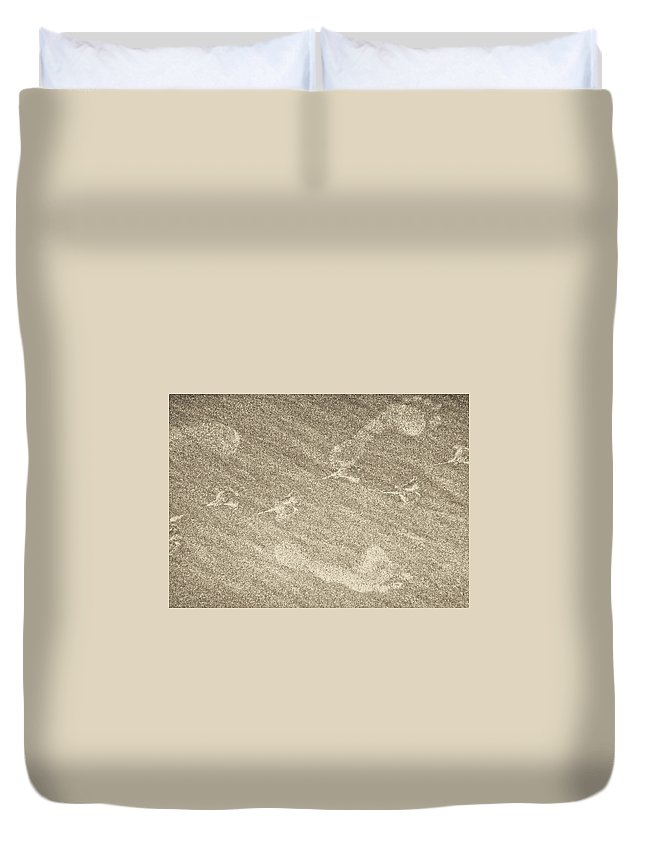 Beach Duvet Cover featuring the photograph Beach Prints by JAMART Photography