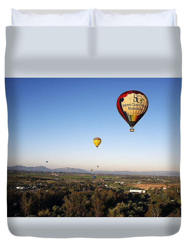 Beautiful Duvet Cover featuring the photograph Beautiful California Country Side, Temecula by Jaime Pomares