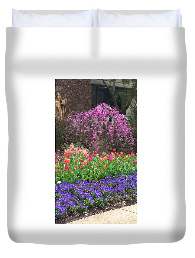 Spring Duvet Cover featuring the photograph Beautiful Combination by Gayle Miller