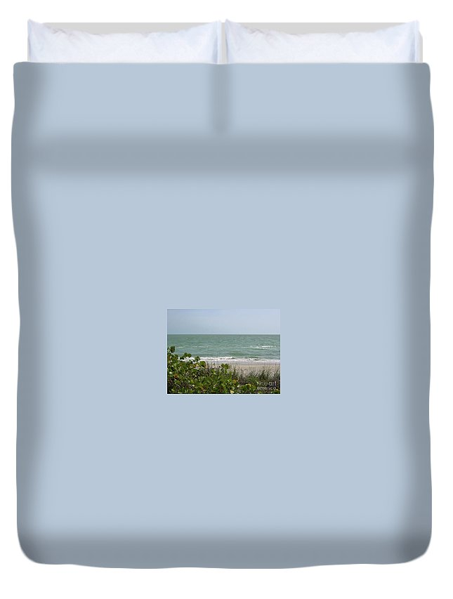 Atlantic Duvet Cover featuring the photograph Beautiful Seascape by D Hackett