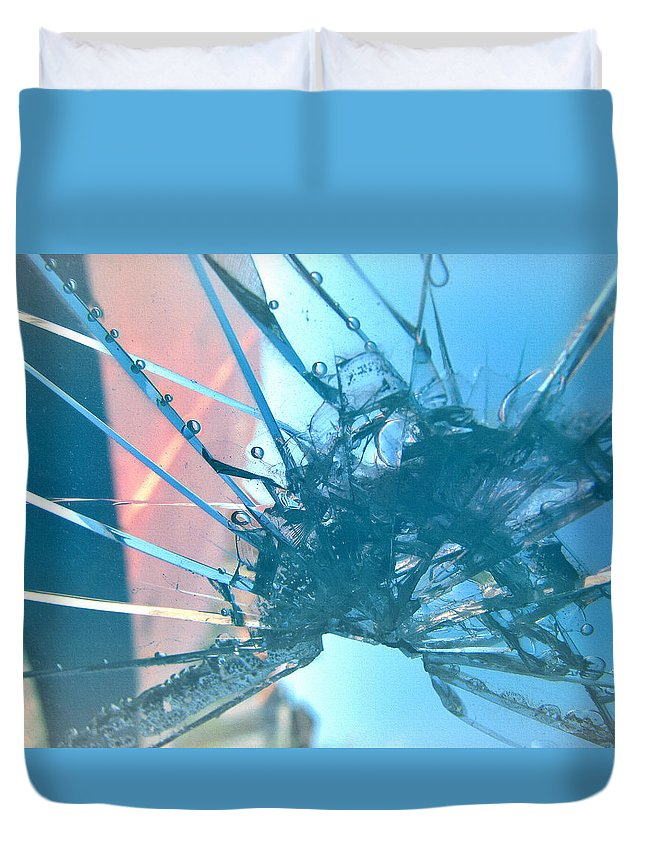 Beautifully Broken Duvet Cover featuring the photograph Beautifully Broken by Lisa S Baker