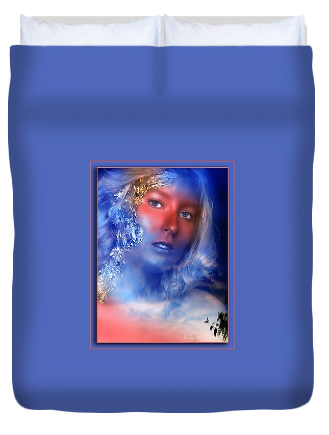 Clay Duvet Cover featuring the photograph Beauty In The Clouds by Clayton Bruster