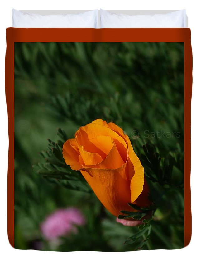 Flowers Duvet Cover featuring the photograph Beauty by Satish Kumar
