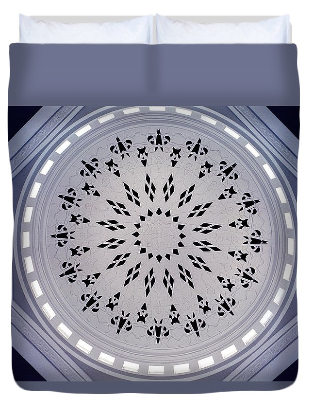 Inspiration Duvet Cover featuring the photograph Beauty by Shaun Higson
