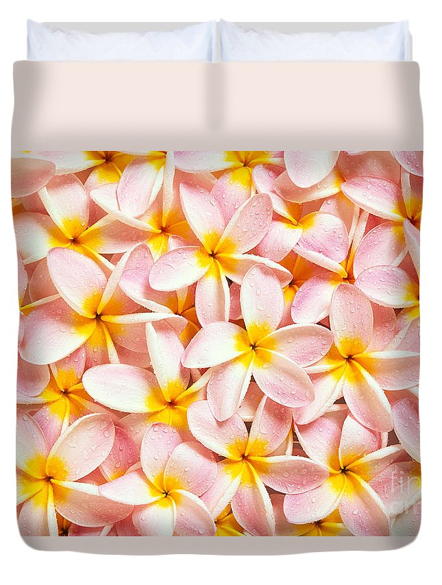Aloha Duvet Cover featuring the photograph Bed Of Light by Kyle Rothenborg - Printscapes