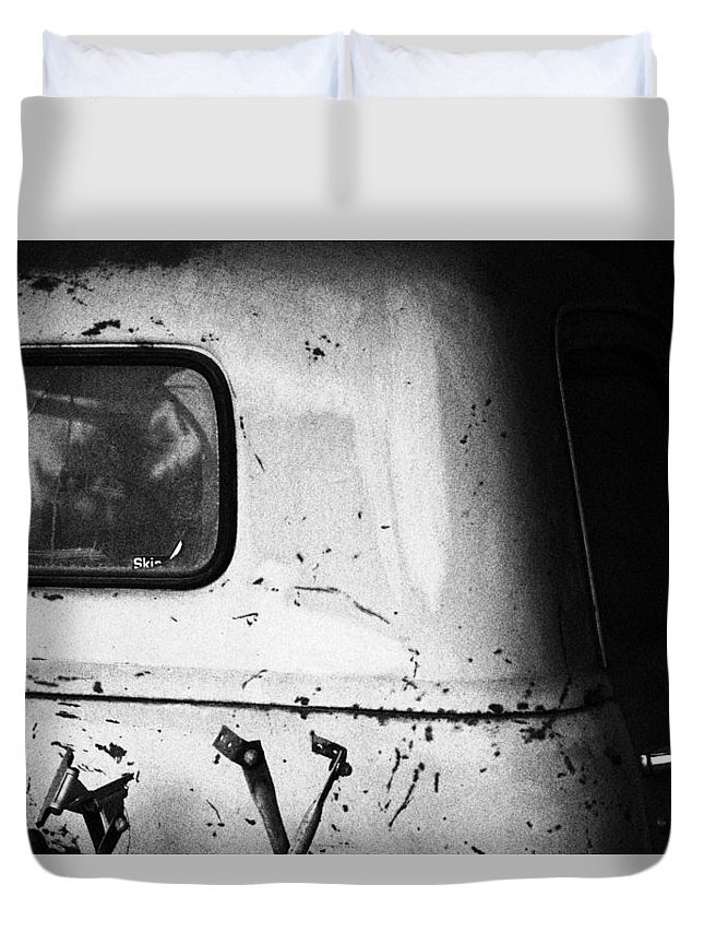 1947 Duvet Cover featuring the photograph Before Color by Marnie Patchett