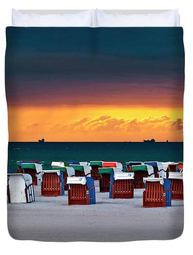 Before The Storm Duvet Cover featuring the photograph Before The Storm by Silva Wischeropp